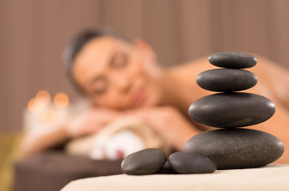 Stone Massage Technique